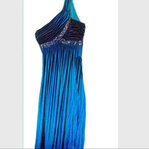 Juno Dress Collection Ombré Formal Gown EUC